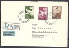 Yugoslavia covers 1940 R-Airmailcover Novi Vrbas to Bad Oeynhausen