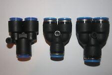 G04 3 x FESTO QSL-10 153073 QSL-12 153074 QSL-16 153075 L-Steckverbinder K88