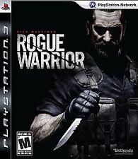1 of 1 - Rogue Warrior (Sony PlayStation 3, 2009)