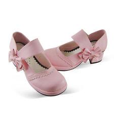 pink lolita damen-Schuhe shoes cute Kostüm halb-schuhe lovely costume sweet Süß