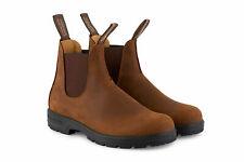 Blundstone 562 sandy brown crazy horse leather soft-toe dealer boot