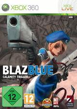 BlazBlue: Calamity Trigger (Xbox 360, Dvd-Box) Nuovo & Originale