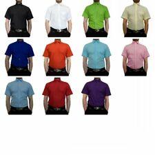 Hochzeit Herren Hemd Kurzarm Herrenhemd Kurz Arm Hochzeitshemd viele Farben K11