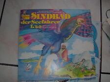 LP  IN TEDESCO SINBAD SINDBAD DER SEEFAHRER 1° TAIL FROM 1001 NACHT EX++