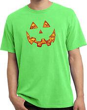 Mens Halloween Jacko O Lantern Skull Pigment Dyed T-Shirt
