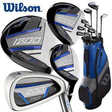Wilson 1200 TPX Men's +1'' Longer Set Steel/Graphite (Driver+3W+5H+6-SW+Putter)