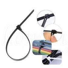1~50x Reusable Self-Locking Network Nylon Plastic Cable Wire Zip Tie Cord Strap