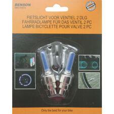 2 x LED Ventilkappen Speichenlicht  für Fahrräder Autos Fahrrad Ventil Licht
