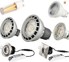 Dimmbar - LED Lampe  GU10 MR16 GU5.3 G9 E14 E27 Leuchtmittel Glühbirne warmweiß