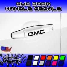 2 pks GMC Silver Etched Vinyl DECALS for Side Mirrors Acadia Sierra Yukon