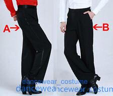 Mens Boys Smooth Ballroom Latin Tango Rhythm Salsa Dance Pants Practise Trousers