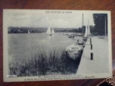 cpa embarcadere du yacht club de lyon bateaux