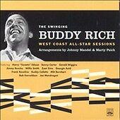 Buddy Rich - Swinging Buddy Rich West Coast (CD, Aug-2009, Fresh Sound (Spain)