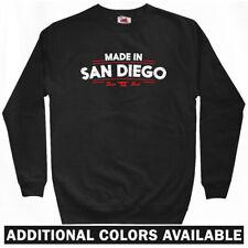 Made in San Diego V2 Sweatshirt Crewneck - CA California SD Padres - Men S-3XL