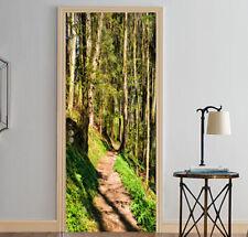 3D Forest Trail 11 Door Wall Mural Photo Wall Sticker Decal Wall AJ WALLPAPER AU