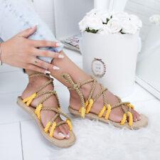 Hemp Rope Sandals Women's Summer Shoes Beach Shoes Women Sandals