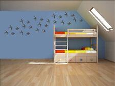 14 x RONDINE Adesivi Da Parete Bambini Vivaio kids Room Decalcomanie UK rui574