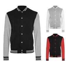 Build Your Brand College Jacke Sweatshirt Sweat Shirt HERREN S M L XL XXL 3XL 4X
