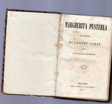 margerita pusteria - racconto di cesare cantu' -  1859 -