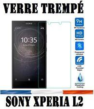 vitre protection verre trempé film de protecteur écran pour Sony Xperia L2 @