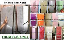 Fridge Sticker Decal Wrap PVC Self Adhesive Sticky Back Plastic Home Decor Plain