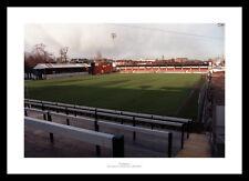 Darlington FC Feethams Stadium Old Football Stadium Photo Memorabilia
