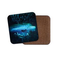 Grotte de Plongée Sous-Marine Plongeur liège soutenu boissons Coaster pour Thé & Café #8100