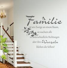 Wandschnörkel® AA388  Wandtattoo Wandaufkleber  FAMILIE  ... Sprüche  Zitate