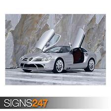 Mercedes Benz SLR McLaren 4 (AB363) cartel de 2xtoallasbaño