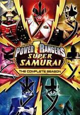 POWER RANGERS SUPER SAMURAI THE COMPLETE SEASON New 3 DVD Set