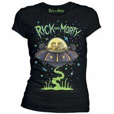 T-shirt Femme Rick et Morty - Soucoupe