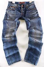 Cipo & Baxx Herren Jeans Hose dicke Naht C - 0886 blau Clubwear Jeans - NEU -