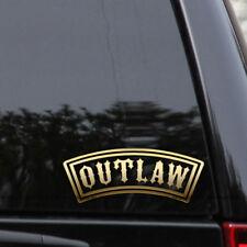 Outlaw Decal Sticker Biker Chopper Harley Davidson Car Truck Window Laptop