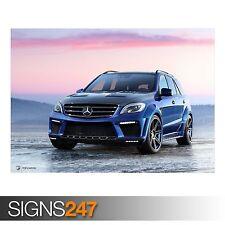 Mercedes benz ml 63 amg inferno (AA589) voiture affiche-poster print art A1 A2 A3