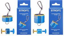 STROFT Vorfachspulensystem 3er und 5er Komplett-Set Leader Spool System