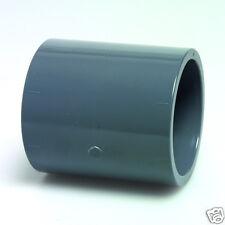 GREY PVC pressione dritta / Socket-Laghetto di raccordi per tubi-Solvente Saldatura