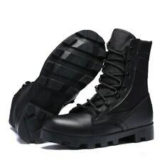 Men's Handsome Joker High Top Military Outdoor Martens Shoes Combat Army Boots