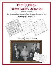 Family Maps Fulton County Arkansas Genealogy AR Plat