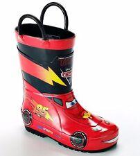 Disney Pixar Cars Boys Slicker Rubber Boots XS/S (4/5)