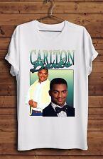 Carlton bancos Camiseta Fresh Prince Bel Air 90s homenaje arreglarán Smith Vintage