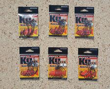 Ami Decoy Kg Hook Worm 17 High Power Offset, Black Bass, Spigola, Worm