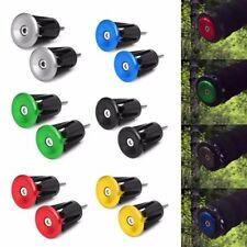 Handle Bar Cap  Bike Handle End Plugs Aluminum Alloy Handlebar Grips Covers