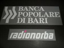 SPONSOR MAGLIETTA T 2010 BARI BANCA POPOLARE RADIONORBA