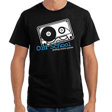 Old School - Analog Audio Power   Club   Kassette   cassette   S-XXL T-Shirt