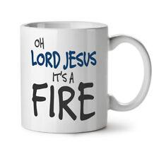 Signore Gesù è il fuoco nuova Tazza Da Caffè Tè Bianco 11 OZ (ca. 311.84 g) | wellcoda