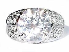 Damen Ring Victoria, Metall-Legierung, rhodiniert, Zirkonia