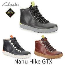 CLARKS x Nanu randonnée GTX imperméable cuir noir UK 6