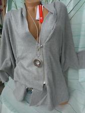 Sheego Cardigan Cardigan Ladies Size 44/46 to 52/54 Grey Large Sizes (723)