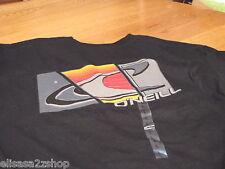 Mens O'Neill T shirt TEE black logo NEW NWT surf skate small S segment 411S18110