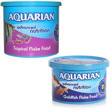 AQUARIAN TROPICAL/Coldwater carpín Dorado Alimento en Copos Para Peces